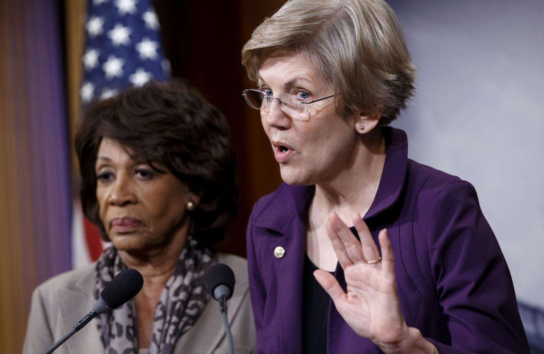Senator-Elizabeth-Warren-and-Representative-Maxine-Waters