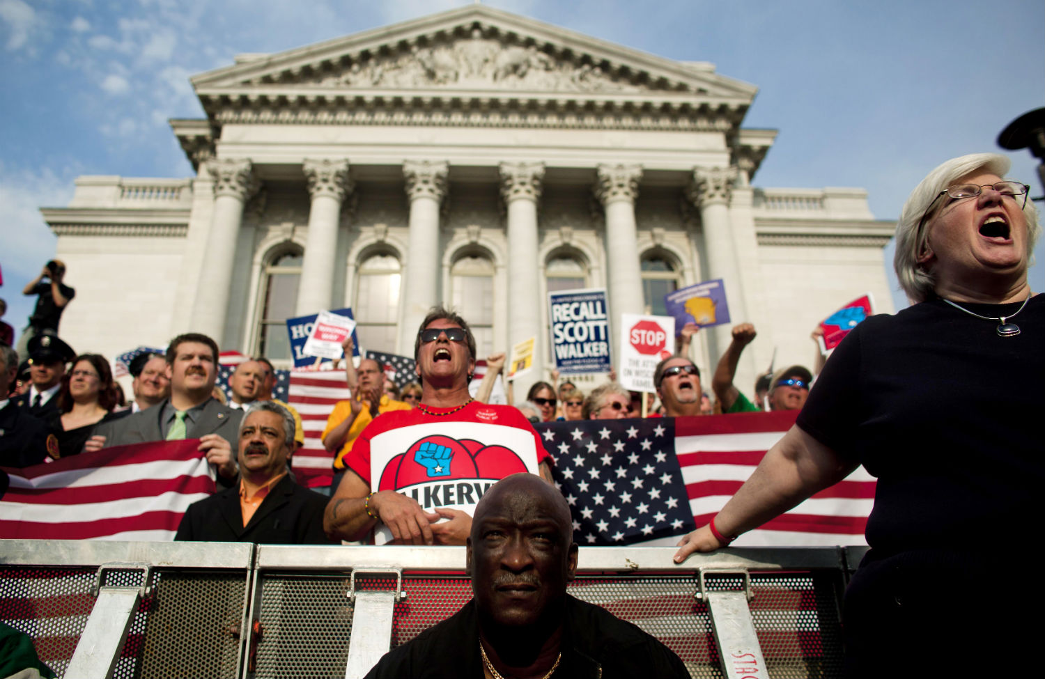 Protesters-in-Wisconsin