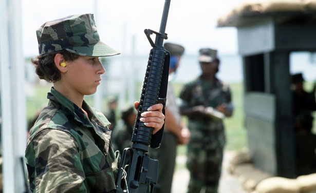 """a study of the women in the infantry """"i said i wanted to be in the infantry,"""" marquez recalls  open all combat jobs— from the infantry to special-operations forces—to women  but mackenzie cites  studies showing that time lost to the military for pregnancy is."""
