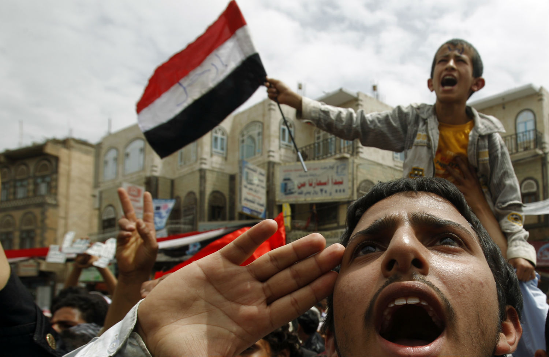 Protest-in-Yemen