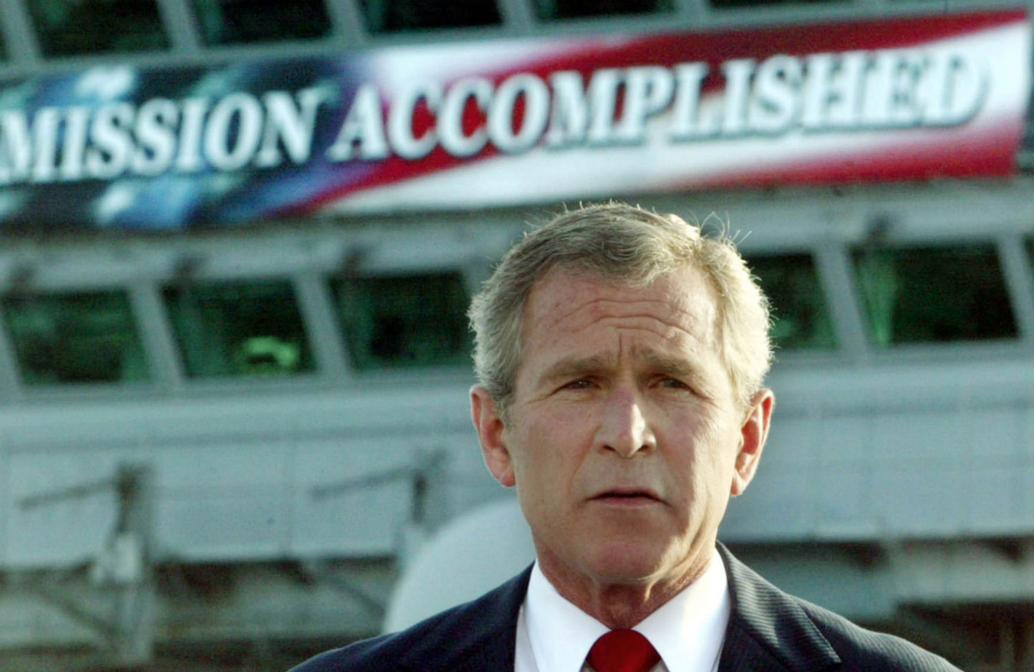 the case for impeaching president george w bush the nation president bush declares the end of major combat in as he speaks aboard the aircraft carrier uss abraham lincoln in 2003