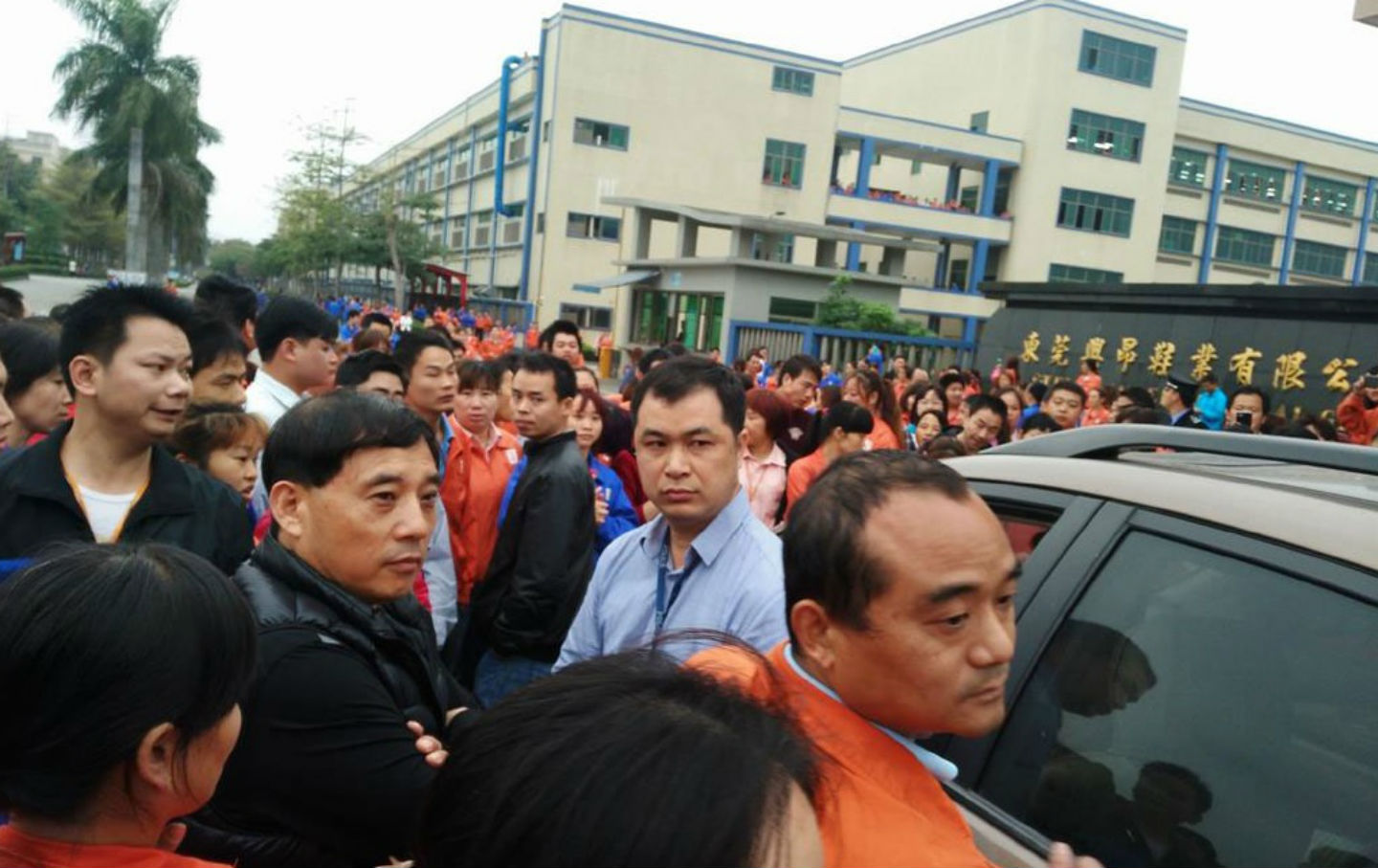 Workers-at-Stella-Footwear-factory-in-China-go-on-strike