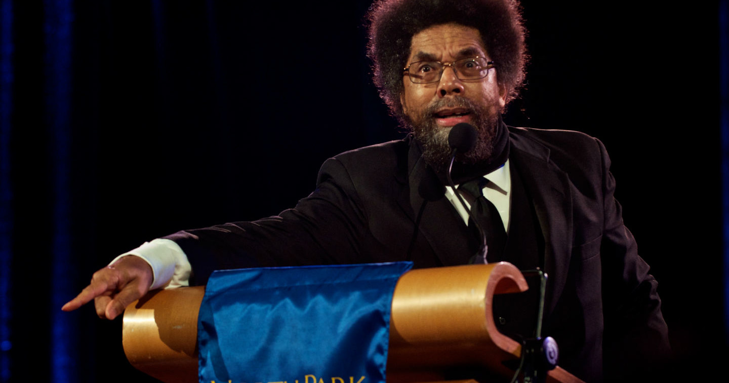 cornel west is not mike tyson the nation