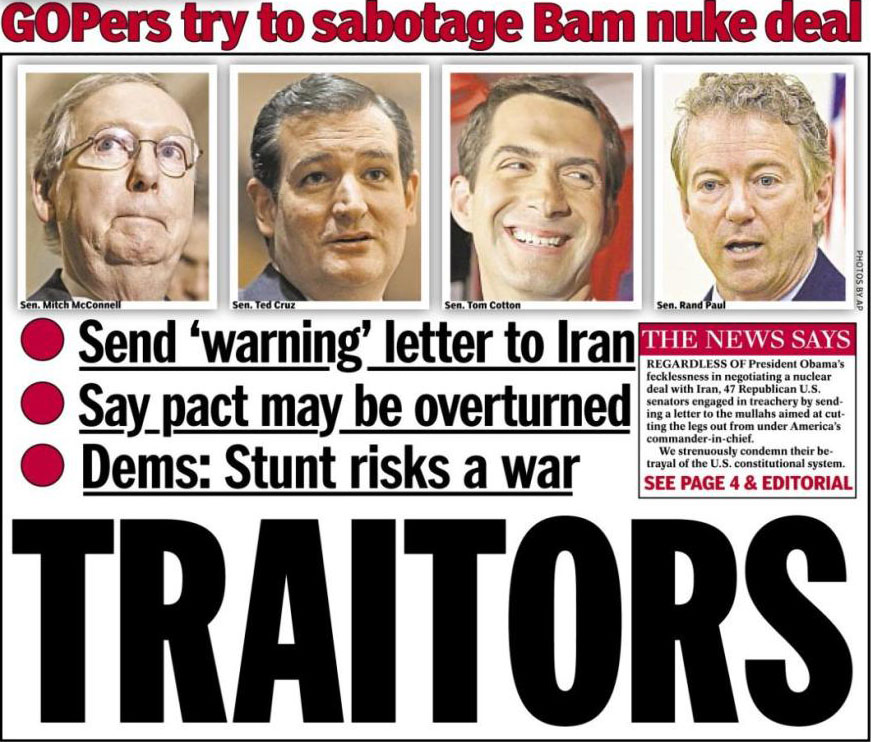 'Daily-News'-to-GOP-'Traitors'-Drop-Dead