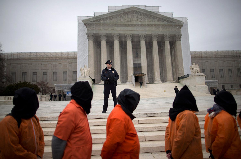 Protest-against-Guantanamo-torture