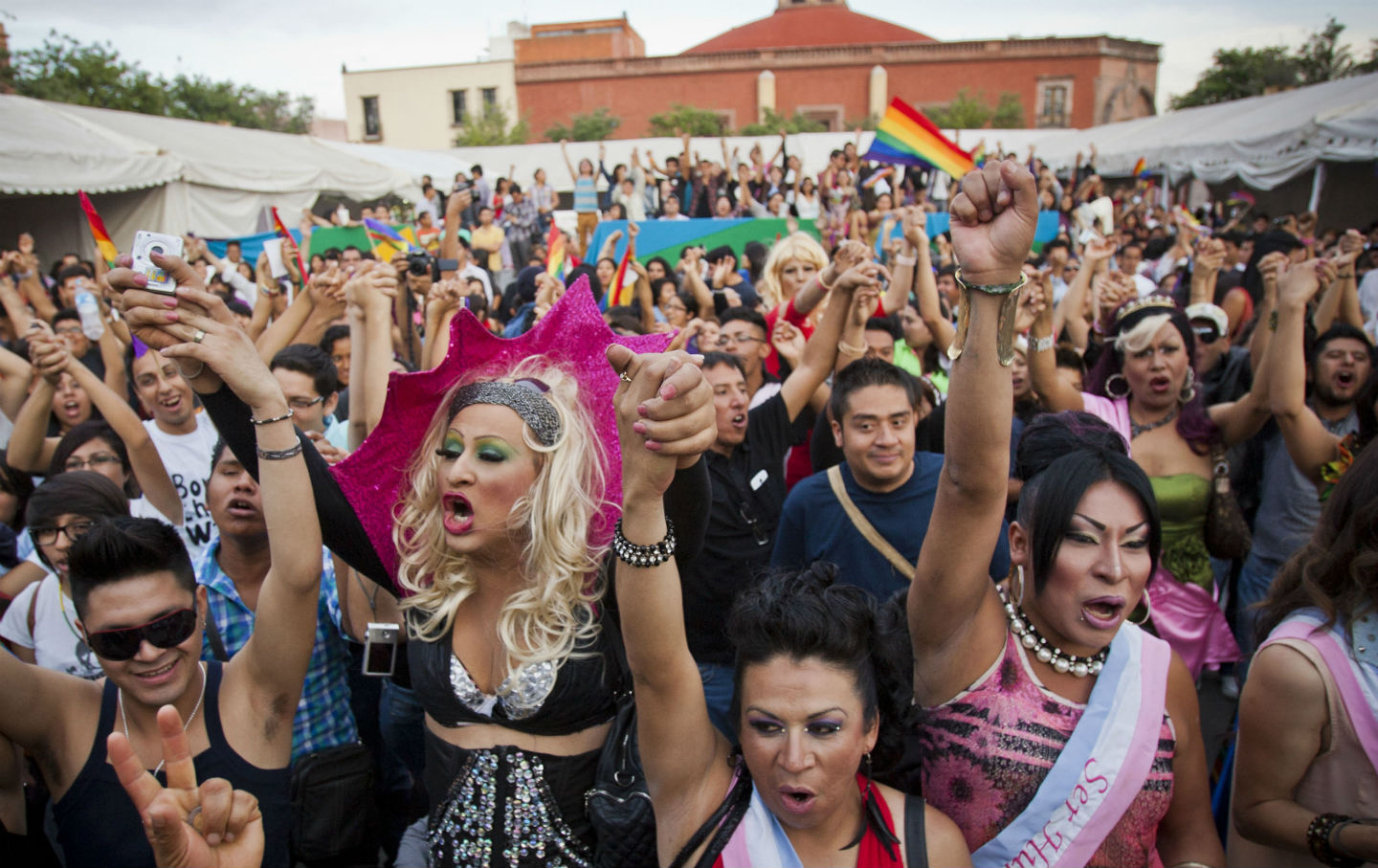 LGBTQ-Mexico-Rally