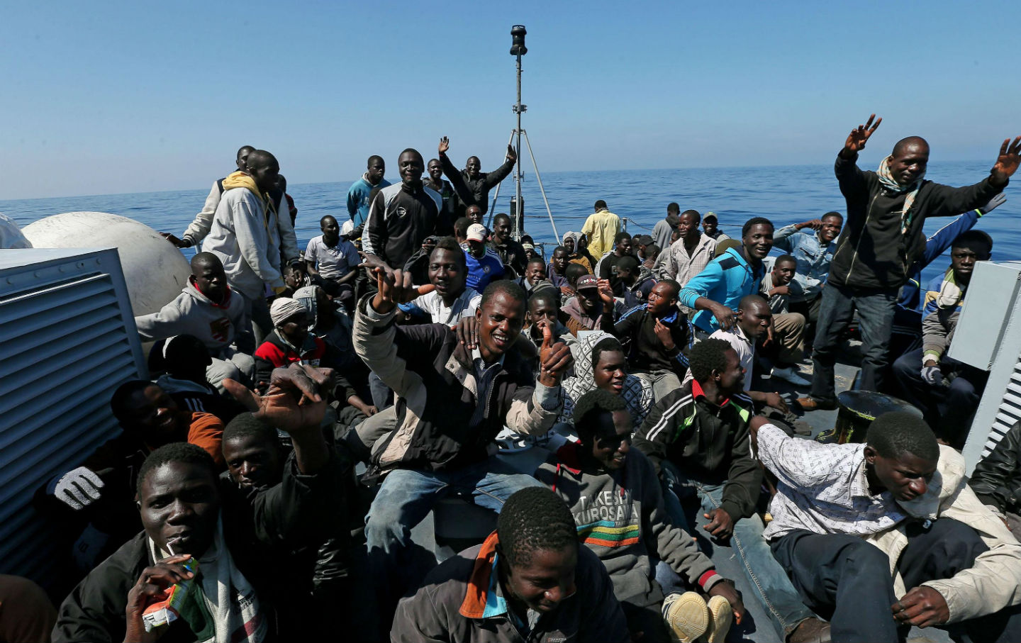 Whats Behind the Surge in Refugees Crossing the