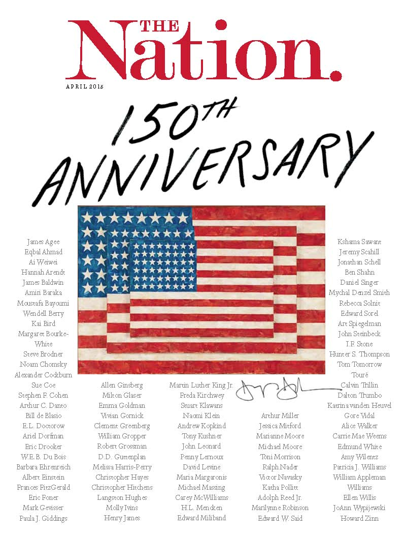 'The-Nation'-Celebrates-150-Years-With-a-Blockbuster-Commemorative-Issue-Out-Today