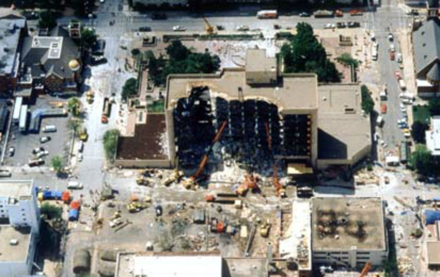 April 19 1995 The Oklahoma City Bombing A Vast Right