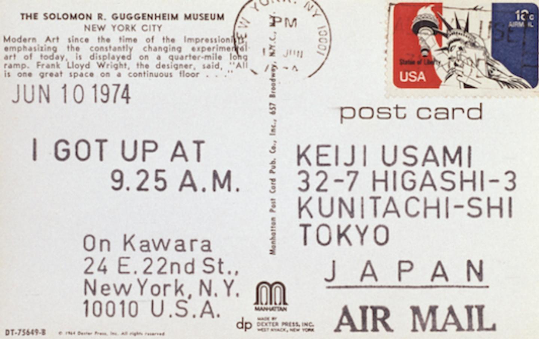 Kawara-Postcard