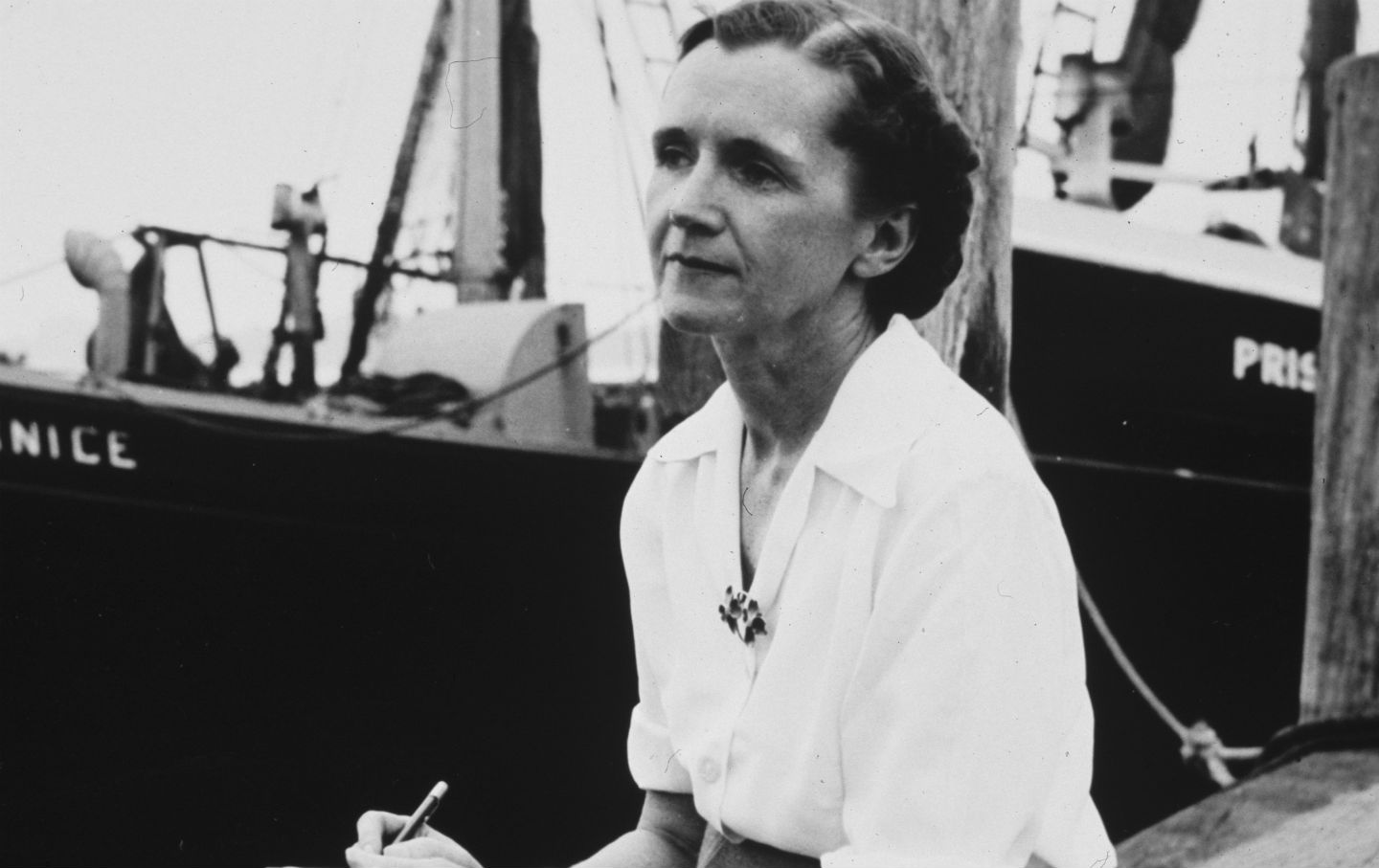 Rachel Carson, date unknown. (US Department of Agriculture) - via The Nation