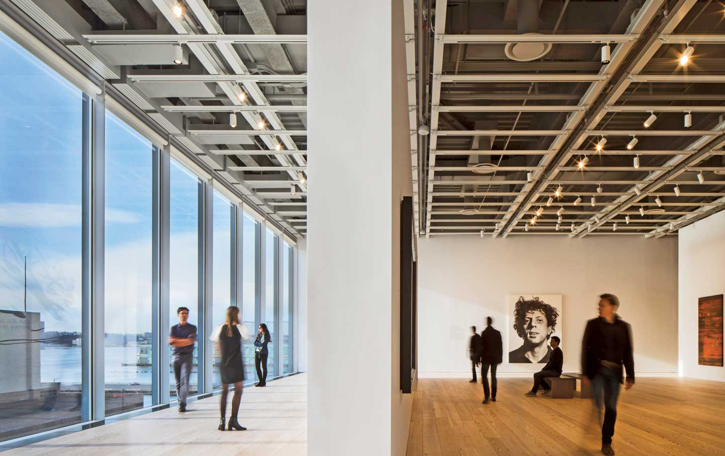A-gallery-in-the-new-Whitney-Museum-of-American-Art