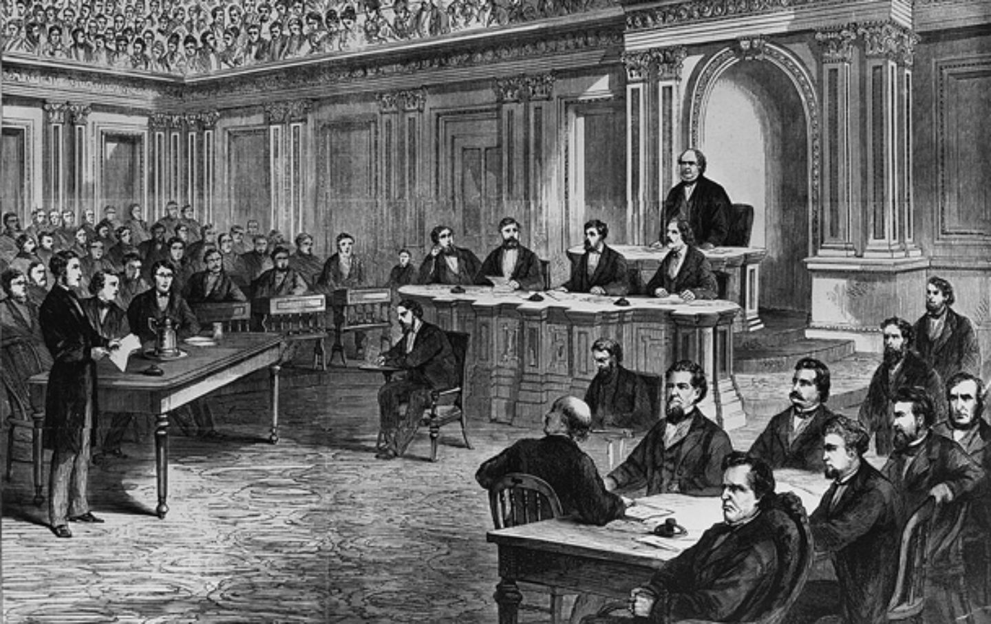 May 26, 1868: President Andrew Johnson, Impeached by the ...