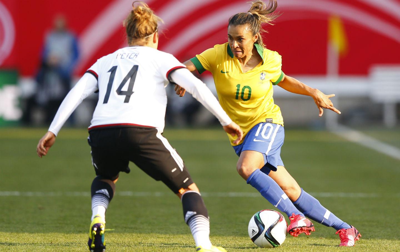 Brazil's Marta