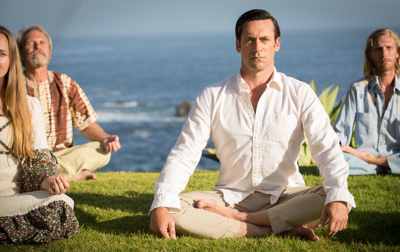 Don Draper Meditates