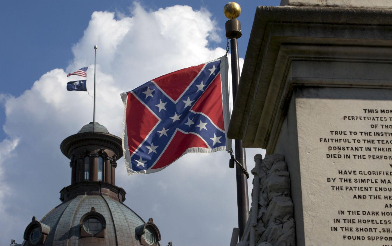 Confederate flag in South Carolina