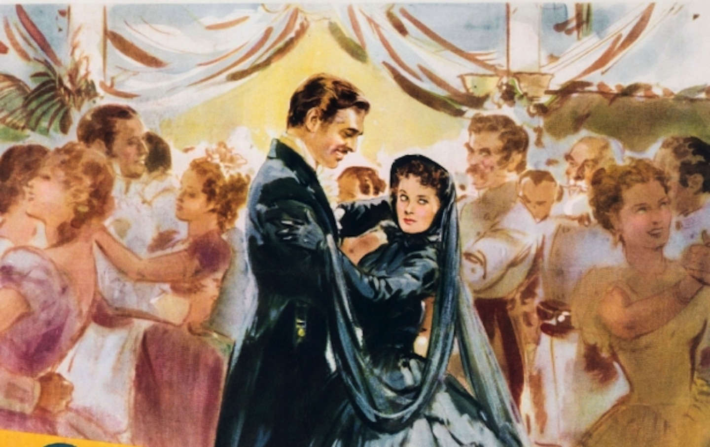 A promotional poster for the film version of Gone With the Wind
