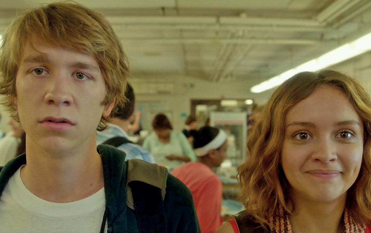 Still image from Me and Earl and the Dying Girl