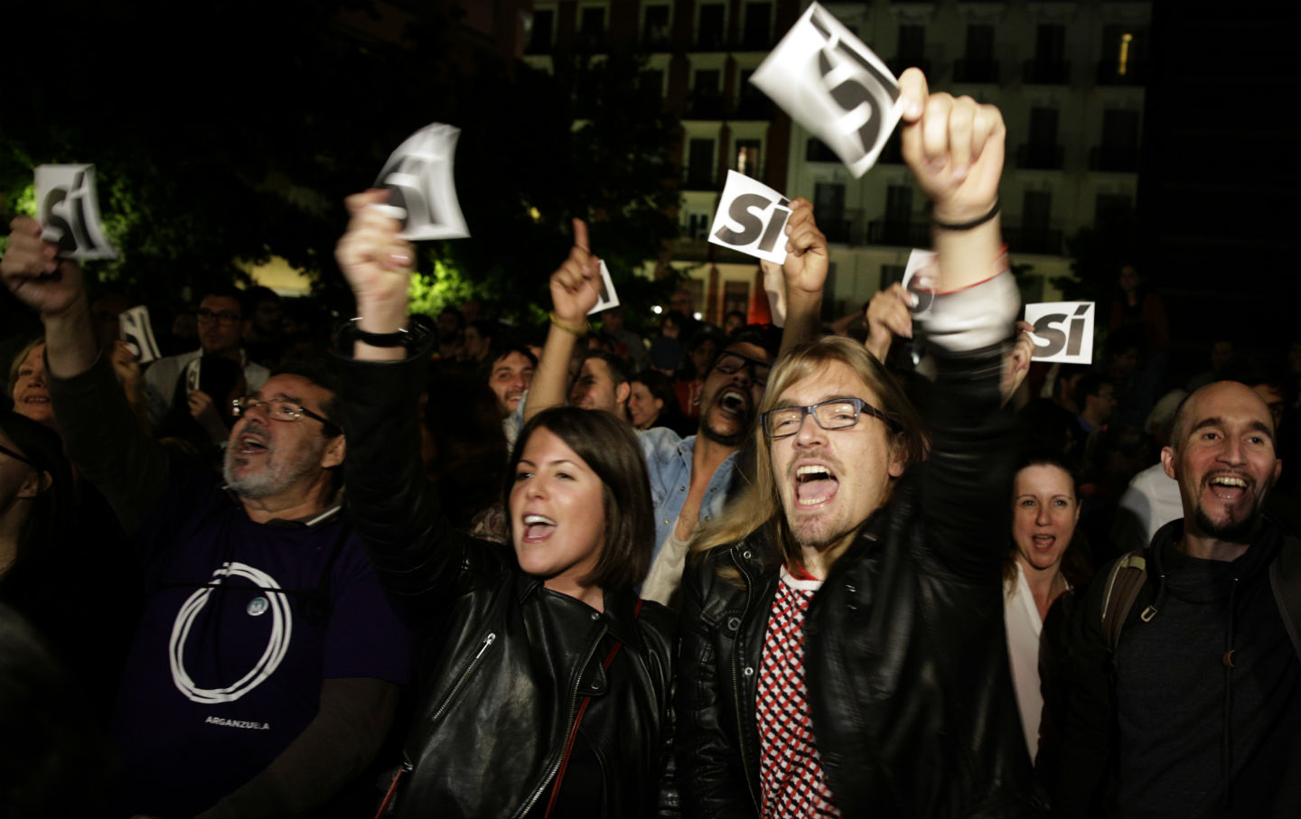 Podemos-supporters