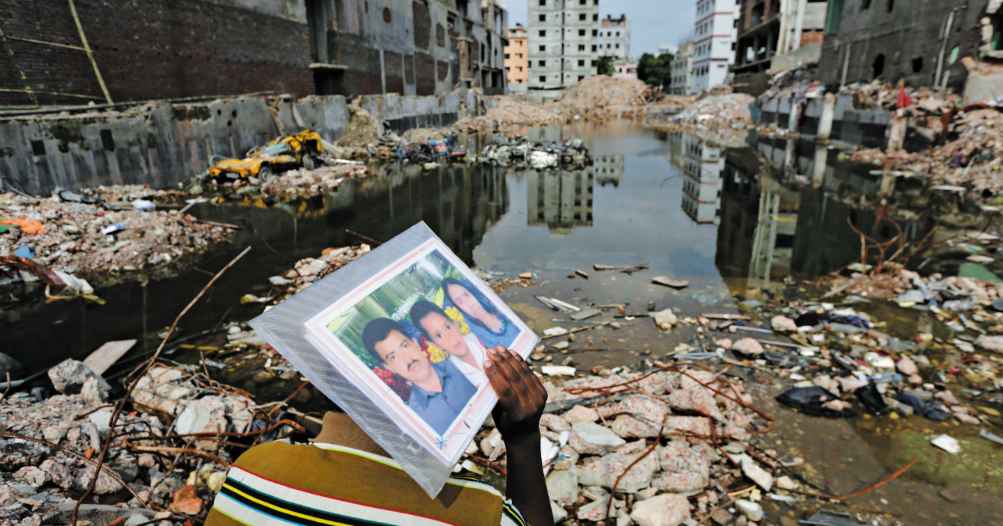 rana plaza disaster It reminds me of the horror i faced when the rana plaza building collapsed, says  lufta akter, a 36-year-old sewing machine operator, who was.