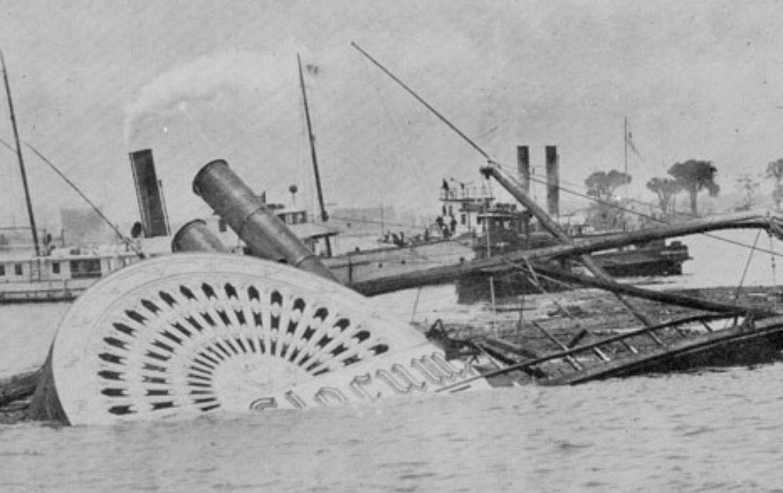 Slocum sinking