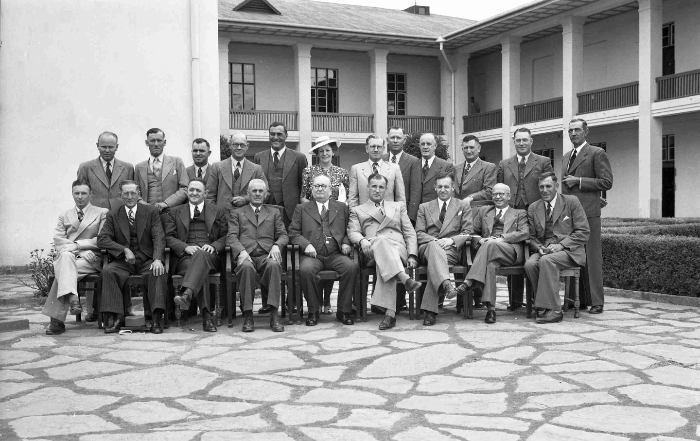 South African Prime Minister D.F. Malan in South Africa, in 1948. His  National Party endorsed and created the blueprint for apartheid.