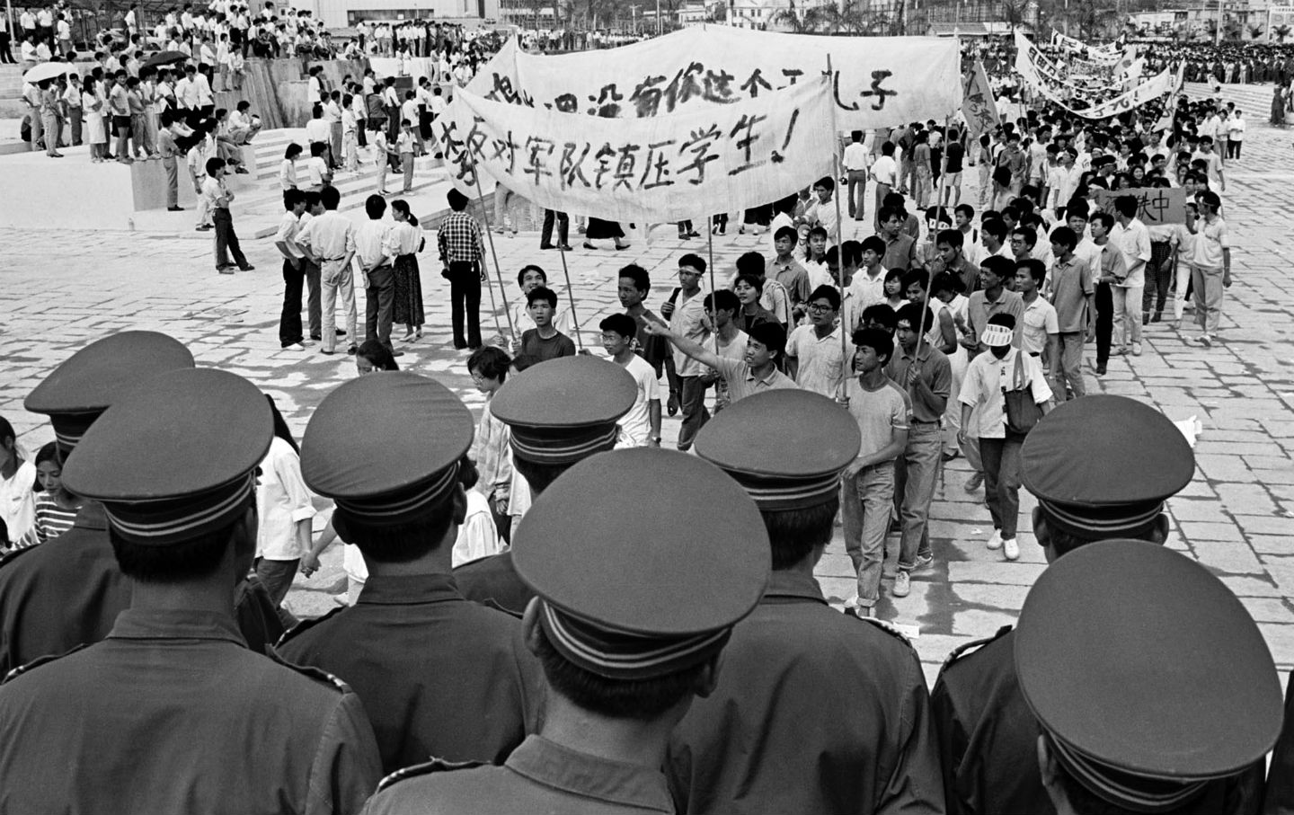 an analysis of chinas 1989 democracy A quarter century after the military cracked down on democracy protests, chinese  still  just before the june 1989 crackdown, tiananmen was a raucous  tigers  and flies—meaning both high- and low-level officials—in the.