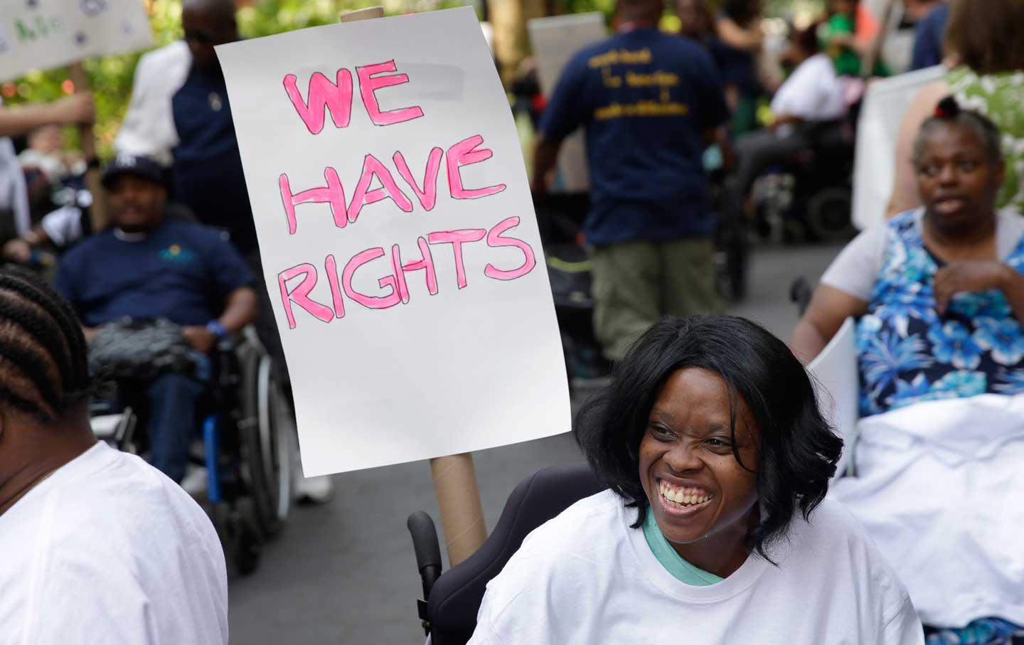 Proposed rollback of Americans with Disabilities Act is permanently stalled
