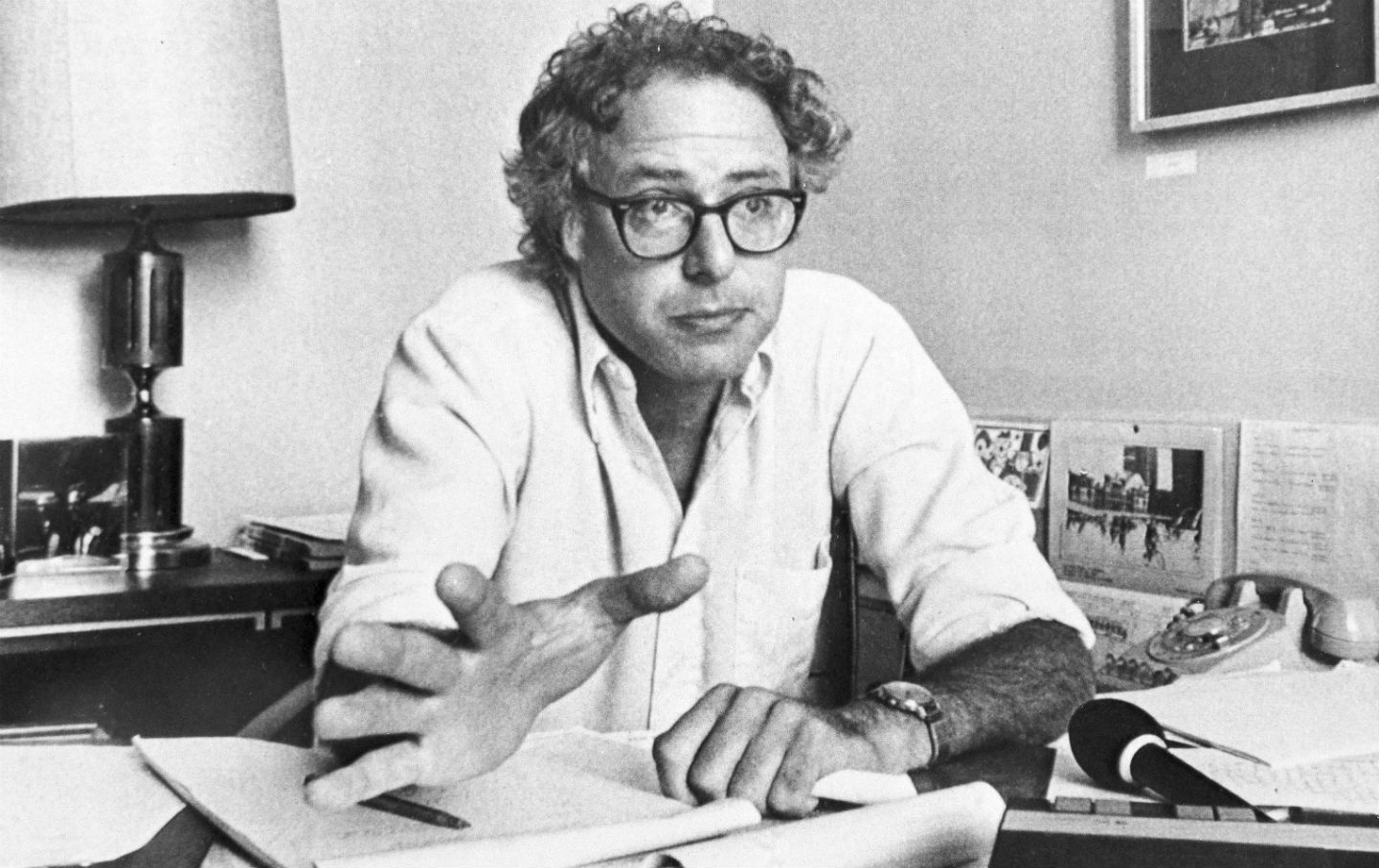 Bernie Sanders as Mayor of Burlington, Vermont
