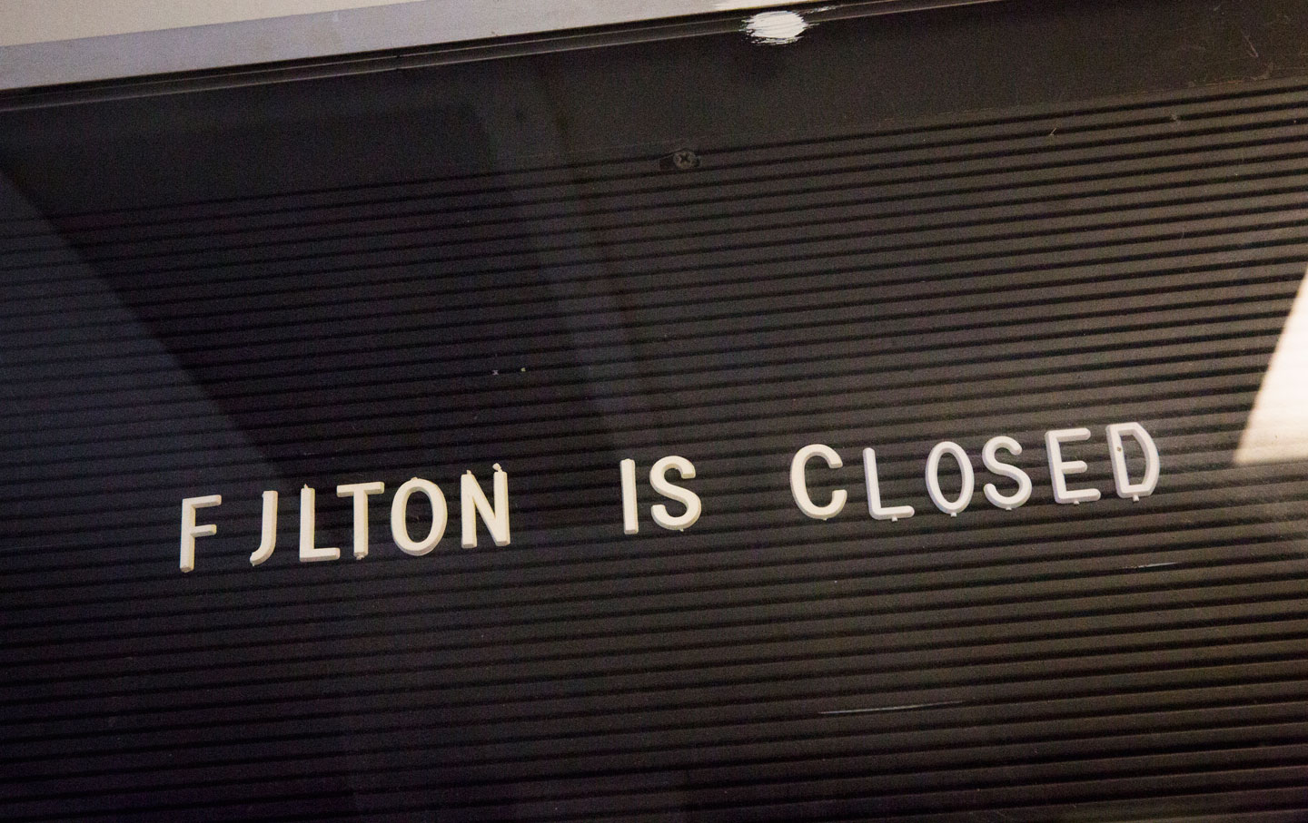 Fulton is one of 13 prisons closed in New York State over the last four years.