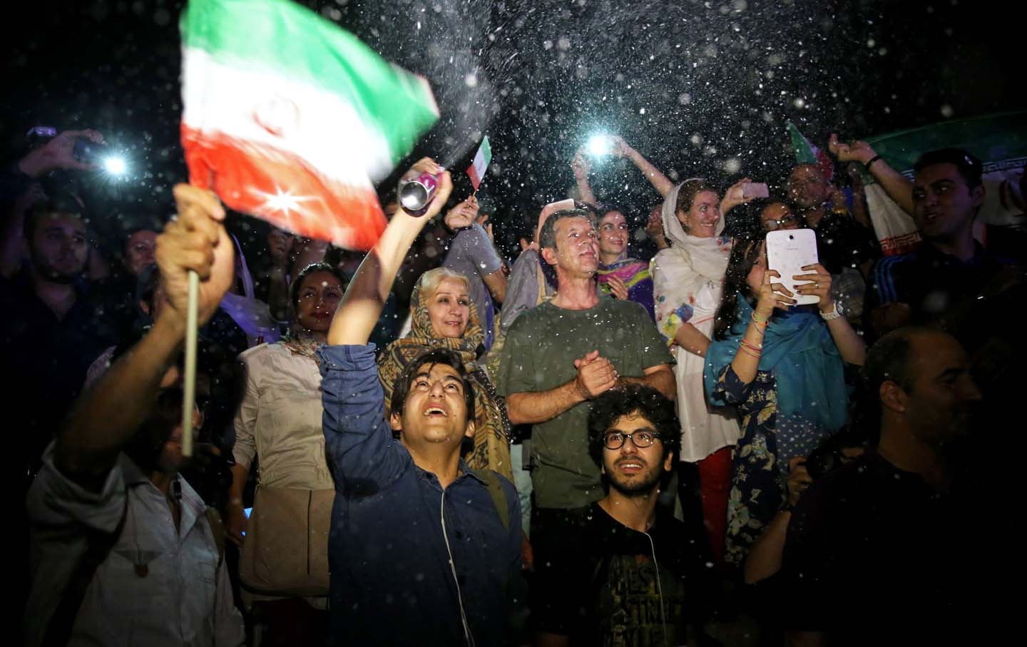 Iran Nuclear Deal Celebrations