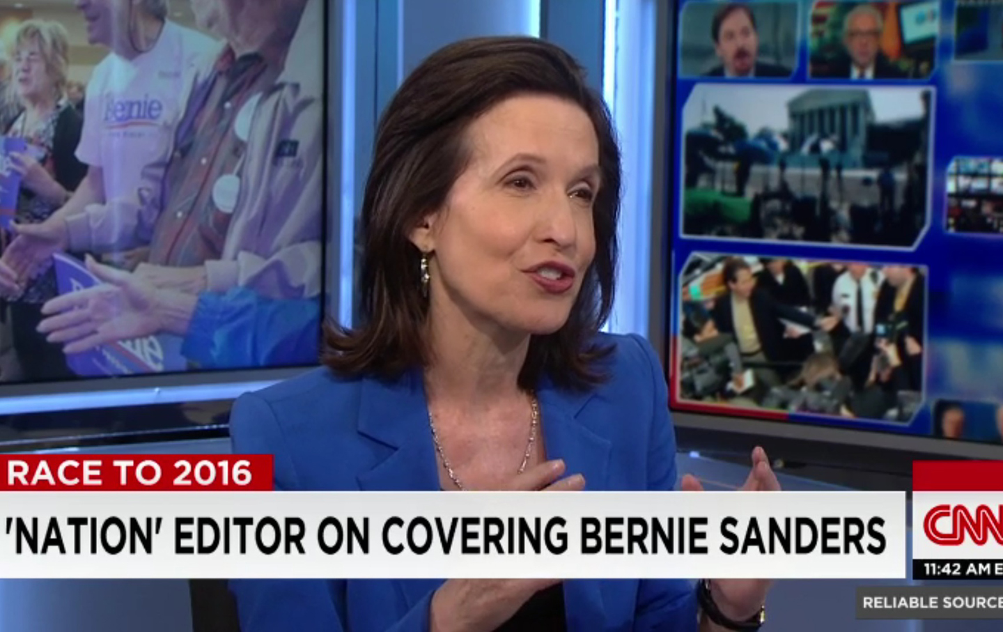 Katrina vanden Heuvel on CNN's 'Reliable Sources'
