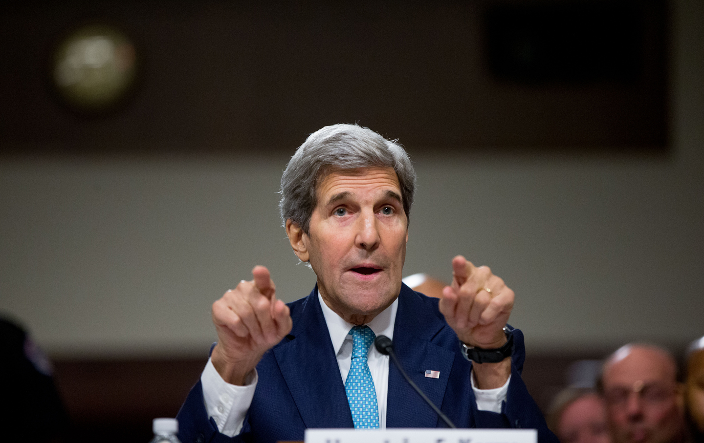 John Kerry Makes The Case On Capitol Hill For A Deal With Iran The
