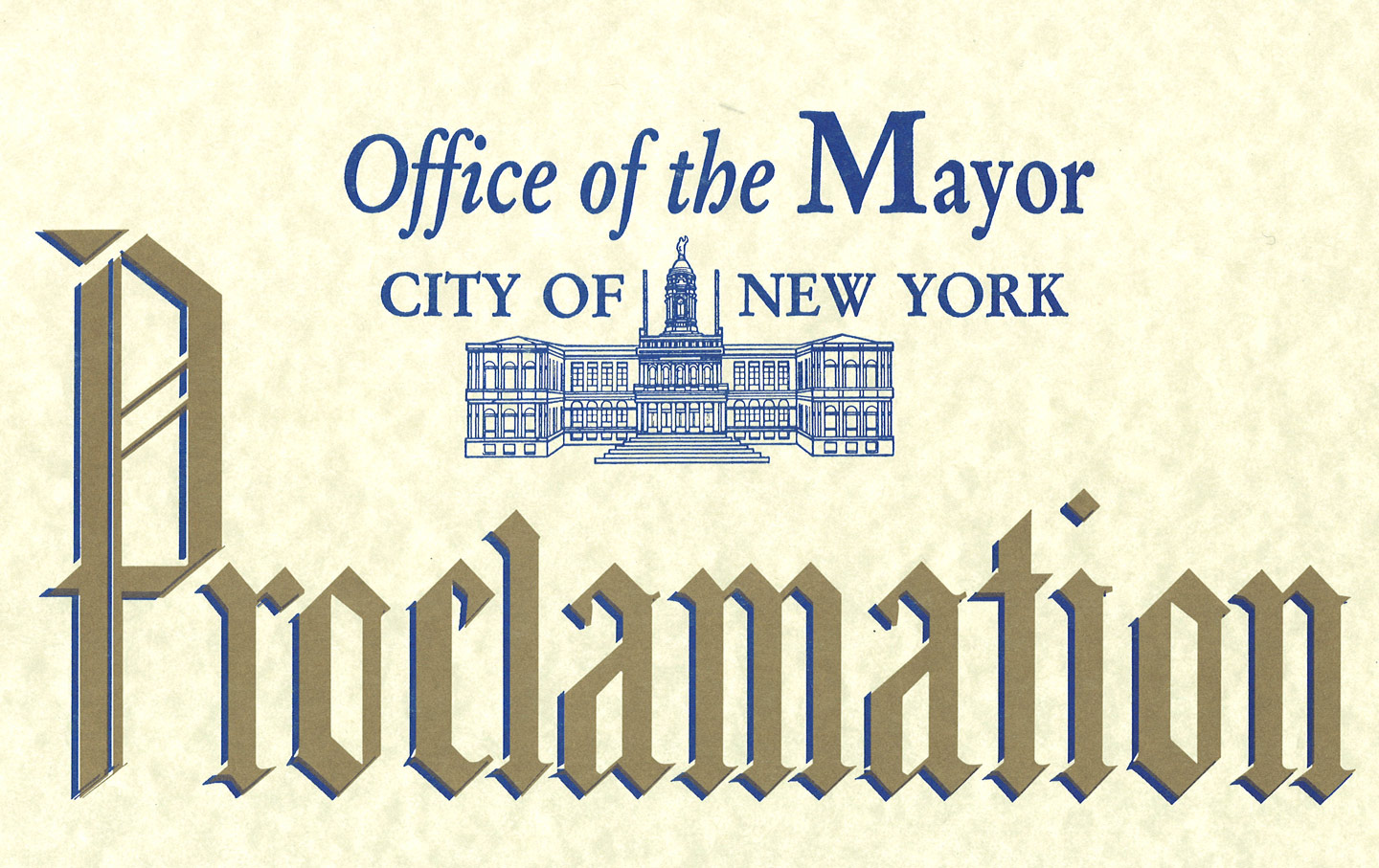New York Nation Day Proclamation