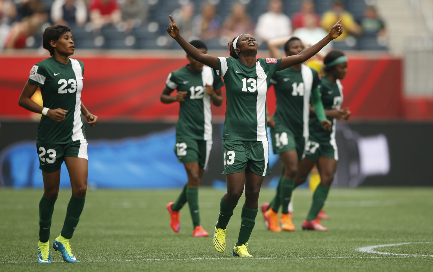 Nigeria, Sweden in 2015 Women's World Cup