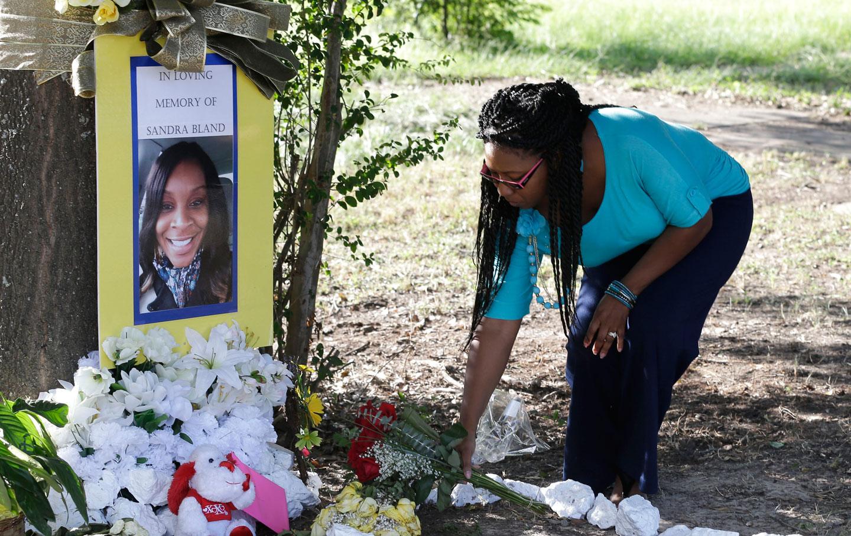 Memorial for Sandra Bland
