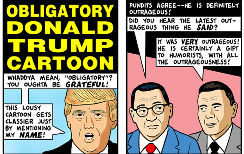 Obligatory Donald Trump Cartoon The Nation