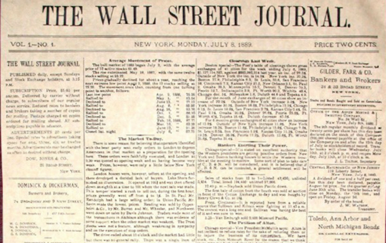 Stock options wall street journal