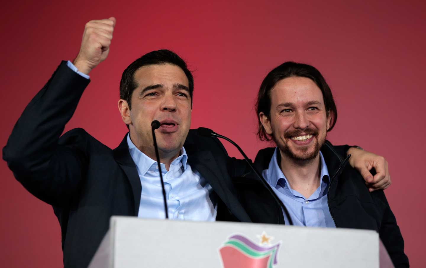 Tsipras and Iglesias