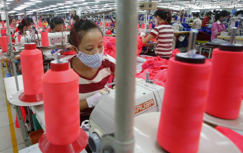 Vietnamese Factory Workers