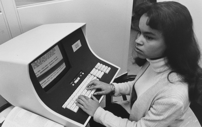 1970s woman worker