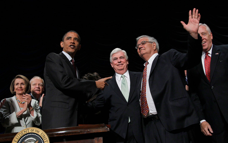 Dodd-Frank Signing