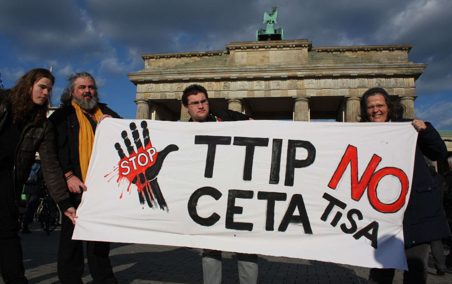 Germans protest TiSA