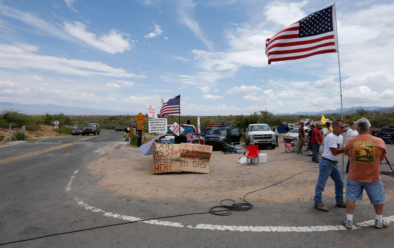 Anti-immigrant protest