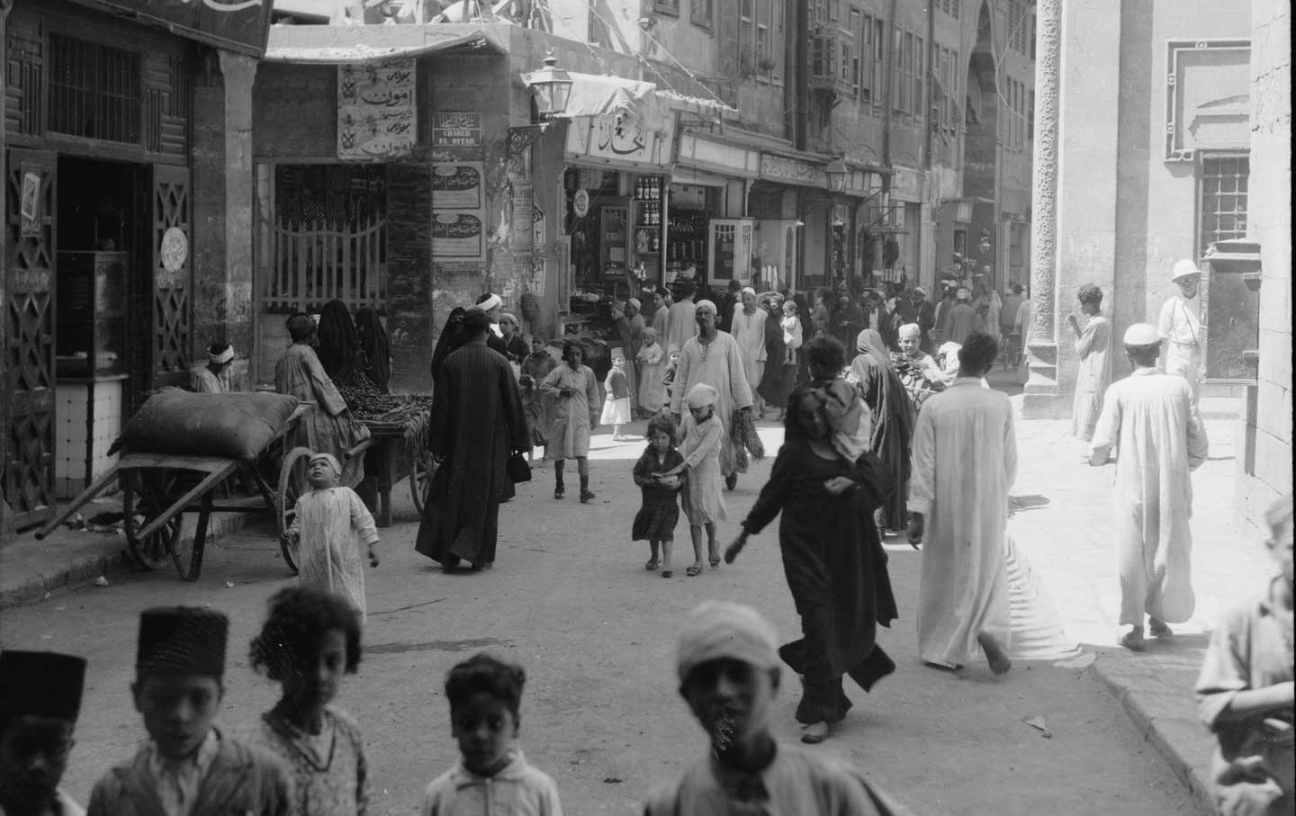 Cairo Street Scene, 1934. Credit: Library of Congress