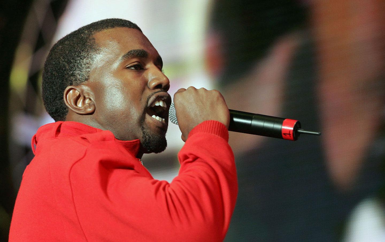 Kanye West in 2005.