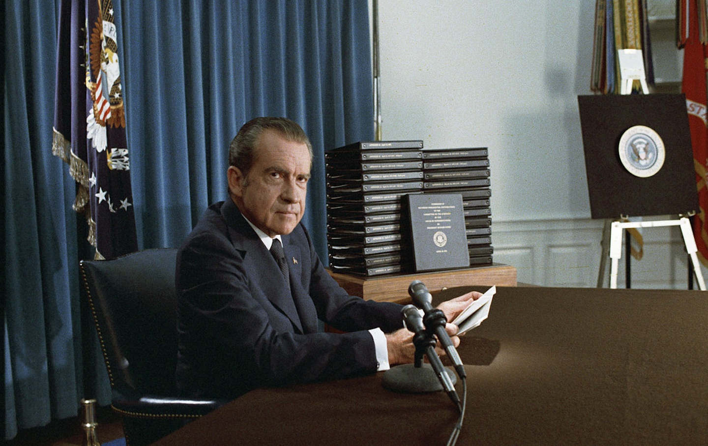 president richard nixon and the watergate Timeline 1968 november 5 - richard milhous nixon, the 55-year-old former vice president who lost the presidency for the republicans in 1960, reclaims it by defeating hubert humphrey in one of the.