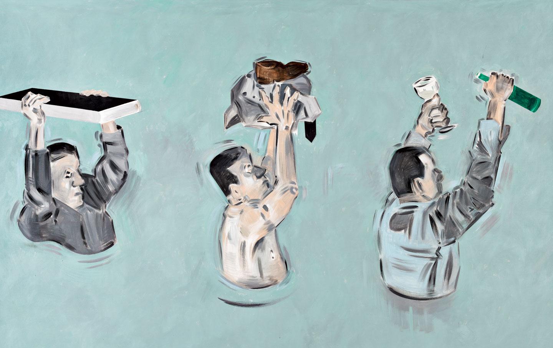 Painting by Apostolos Georgiou.