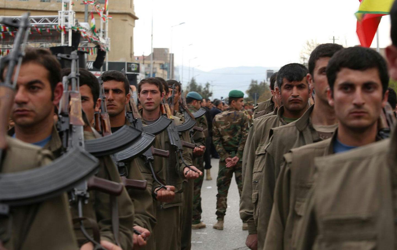 Kurdish guerrillas