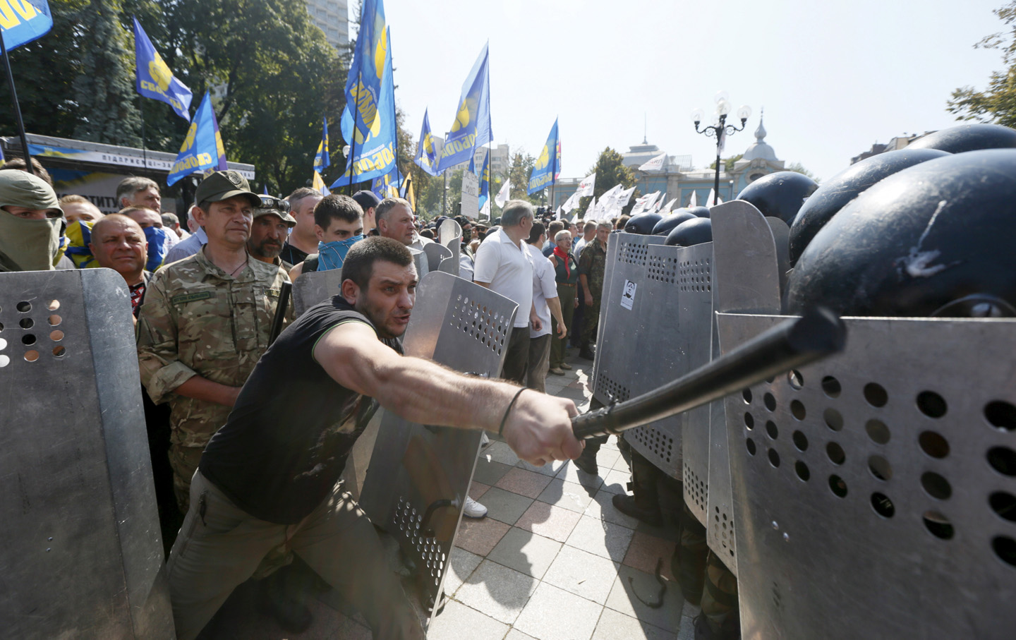 Did the Violent Protests in Kiev Mark the Beginning of the ...